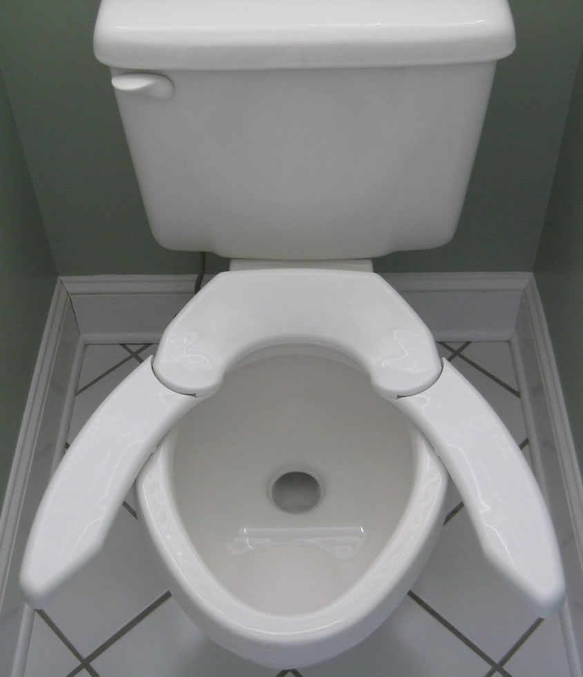Toilet Seat For Heavy Person.Adjustable Advantage Toilet Seat